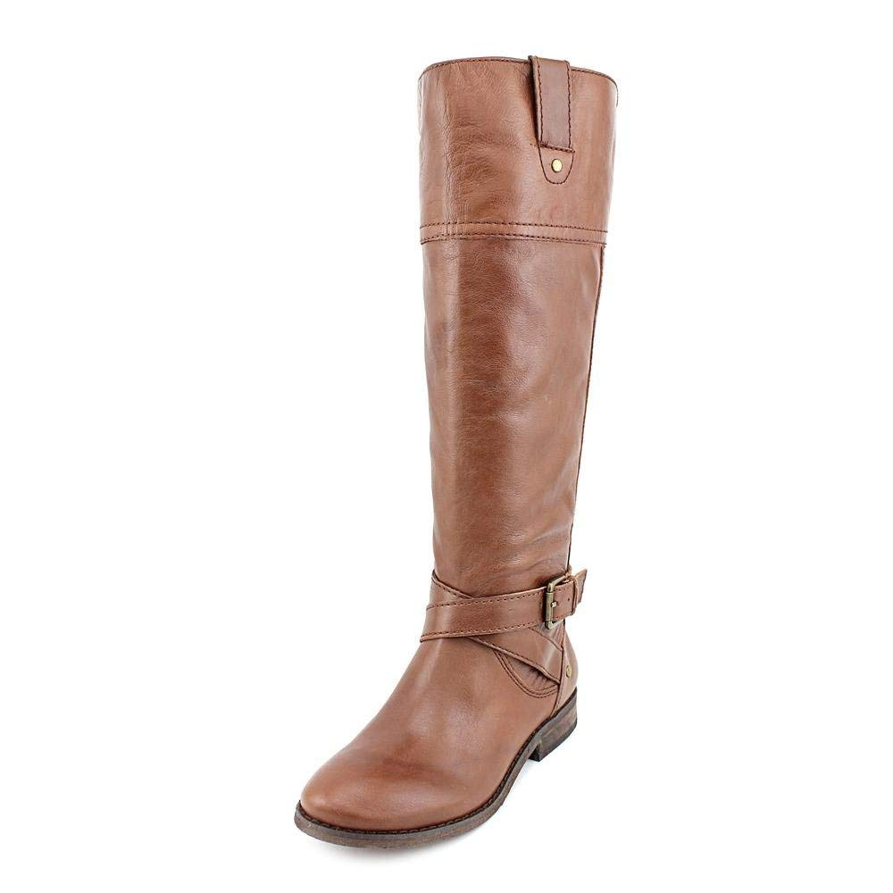 Marc Fisher Womens Amber Leather Closed Toe Knee High Fashion Boots