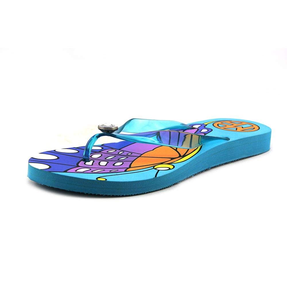 Marc Fisher Delia Flats, Blue, Size 9.0