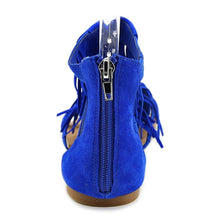 Steve Madden Favorit Women Blue Gladiator Sandal