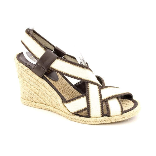 Ralph Lauren Idalis Womens Brown/Cream Sandals 9M