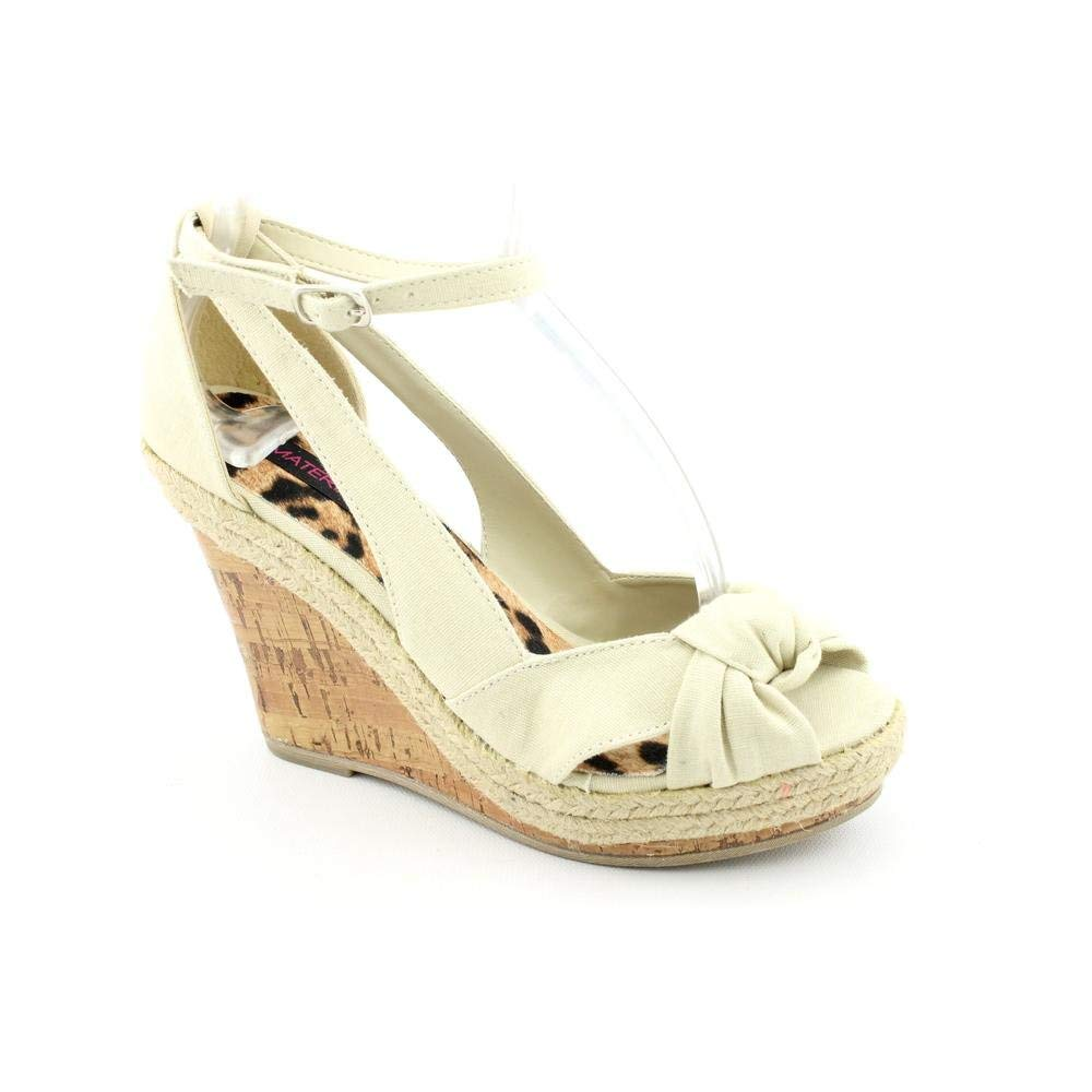Material Girl Vent Natural women Heels Size 10
