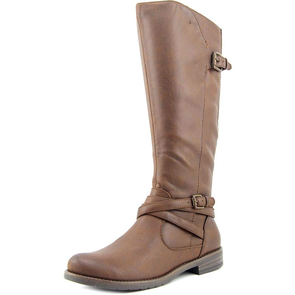 BareTraps Corrie Women Round Toe Synthetic Brown Knee High Boot