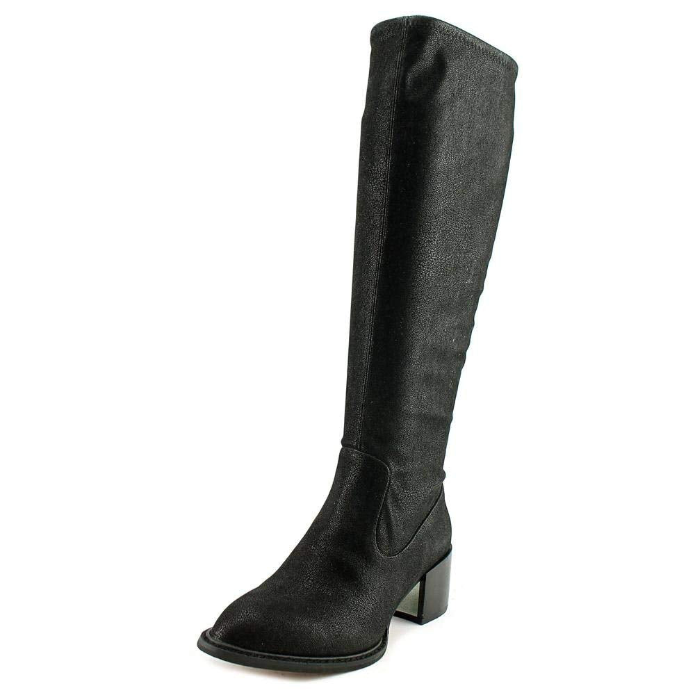 BCBGeneration Sunshine Black Womens Mid-Calf Boot 5.5M