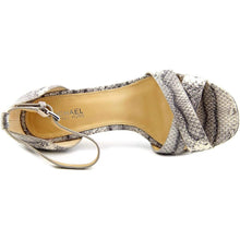 Michael Michael Kors Womens Divia Ankle Strap Leather Open Toe Casual Ankle S.