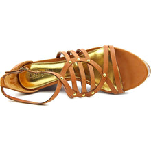 Lauren by Ralph Lauren Womens Raegan Leather Open Toe Casual Strappy Sandals