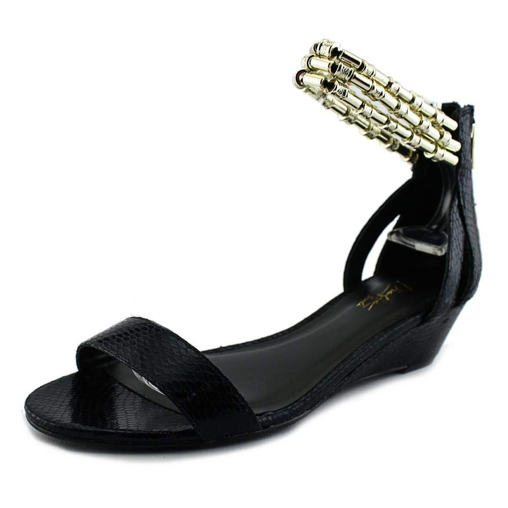 Thalia Sodi Savana Women US 5 Black Sandals