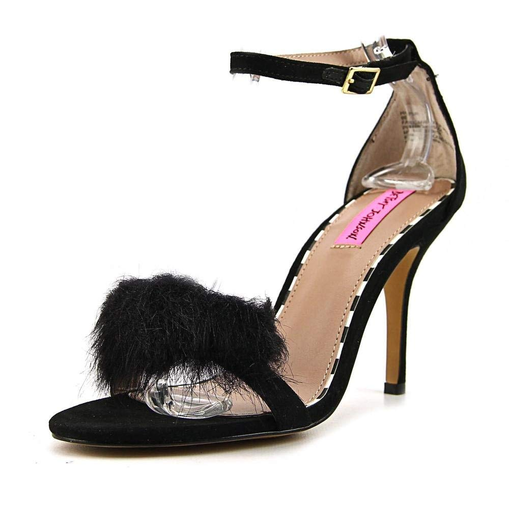 Betsey Johnson Womens Harpur Open Toe Special Occasion Ankle Strap Sandals