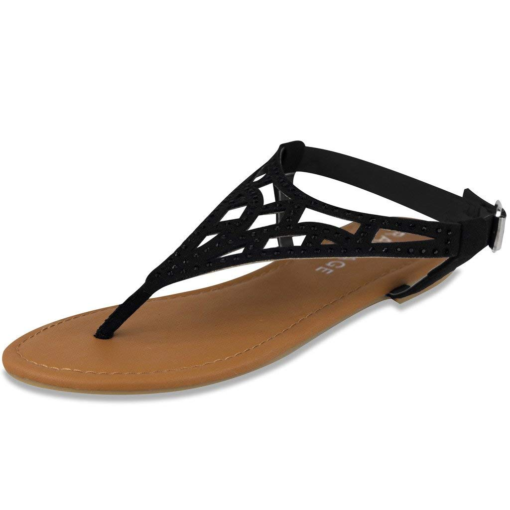 Rampage Womens Pattie Sandal