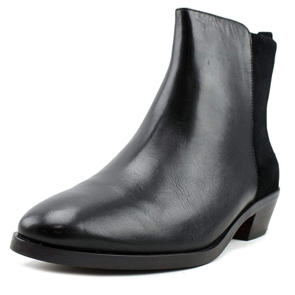 Coach Womens Carmen Leather Closed Toe Ankle Fashion Boots