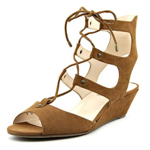 Inc International Concepts Womens Mandie Fabric Open Toe Casual Platform Sand.