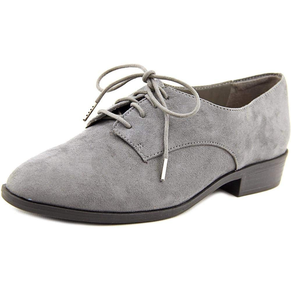 Bar Iii Womens Gelsey Almond Toe Oxfords