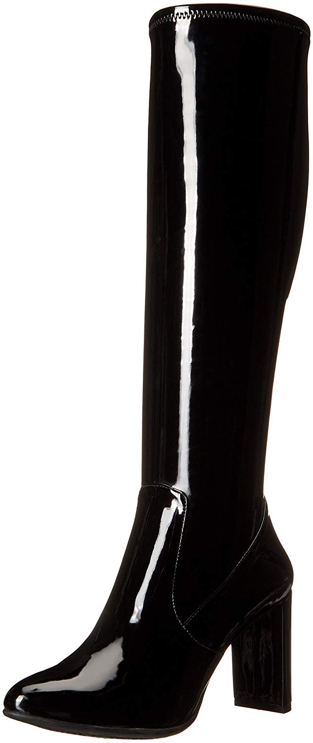 Nine West Women's Kellan Patent Knee-High Boot