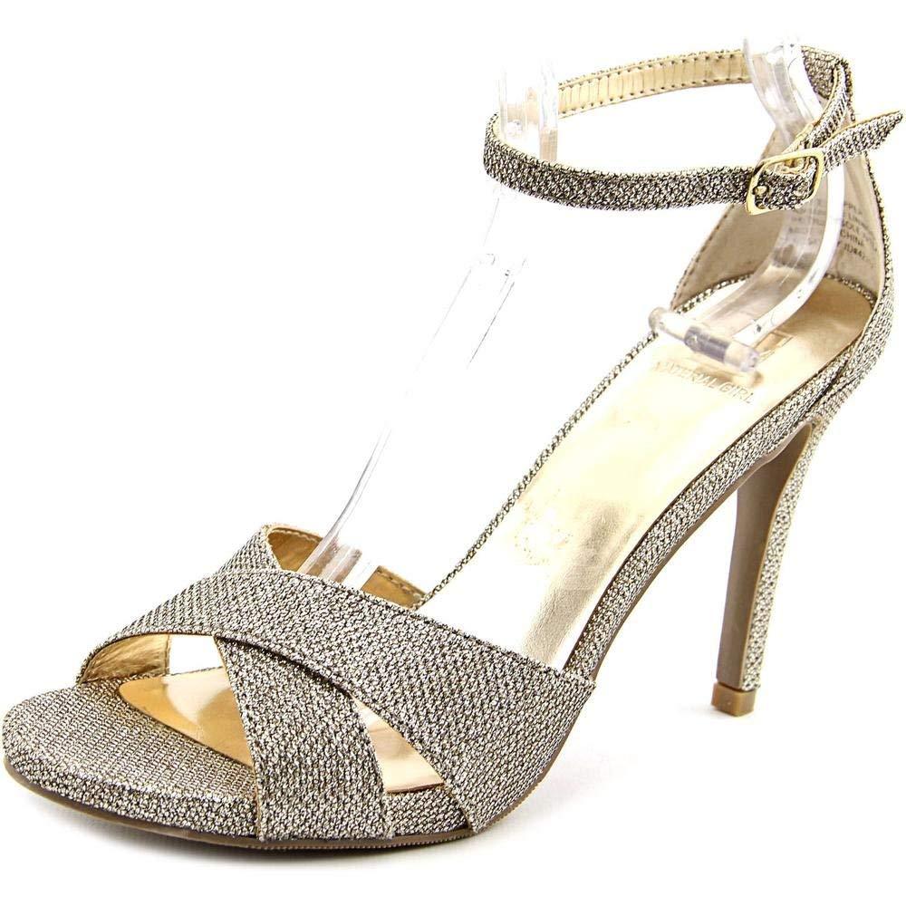 Material Girl Womens Sara Open Toe Ankle Strap D-Orsay Pumps
