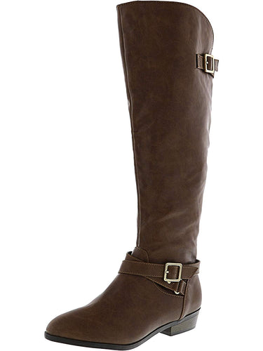 Material Girl Womens Capri Wc Closed Toe Mid-Calf Fashion Boots