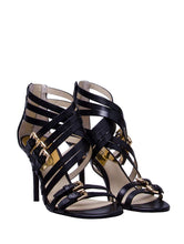 MICHAEL Michael Kors Women's Ava Sandals, Black, 8.5 B(M) US
