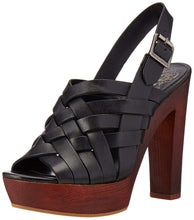 Vince Camuto Womens Elyza Leather Open Toe Casual Strappy Sandals