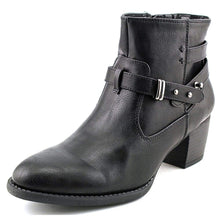 White Mountain Rotary Women US 8 Black Ankle Boot