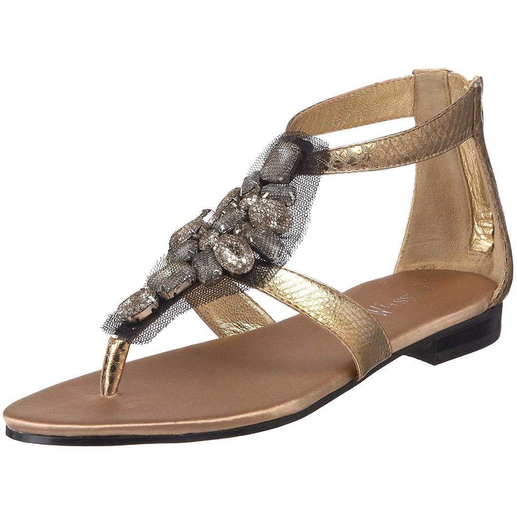 GUESS by Marciano Women's Brie Ankle-Strap Sandal