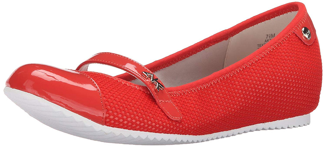Anne Klein Sport Women's Zee Fabric Mary Jane Flat