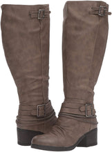 Carlos by Carlos Santana Women's Candace Wide Calf Riding Boot