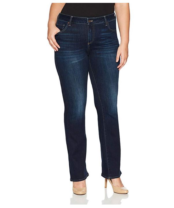Lucky Brand Trendy Plus Size Ginger Bootcut Twilight Blue 20W