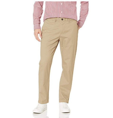 Tommy Hilfiger Men's Stretch Chino Pants in Custom Fit, Mallet 30W x 34L