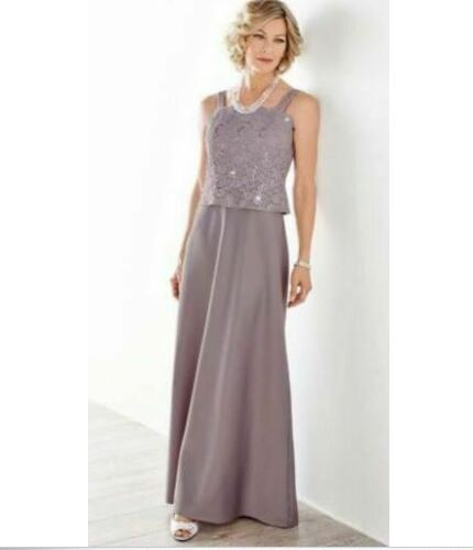 Alex Evenings Purple Sequined Dress-16