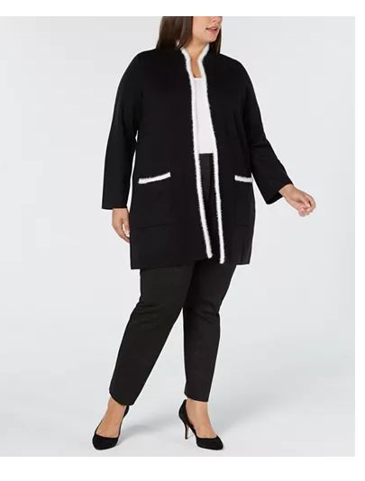 Alfani Plus Size Wool Cardigan 3X
