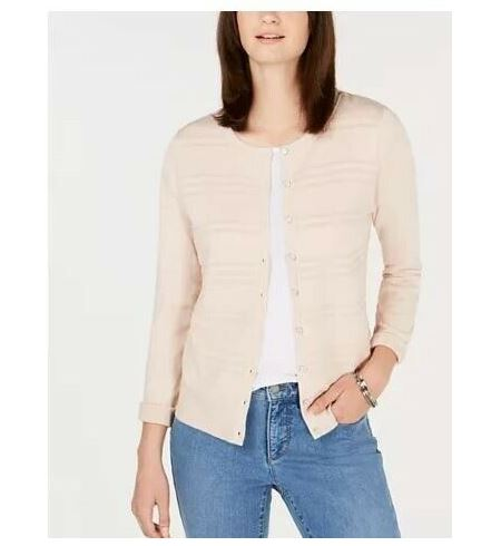Charter Club Blush Cardigan-Large