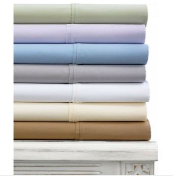 Fine Linens Stratton 620 Thread Count 100 Cotton Cal Queen Sheet Set V024