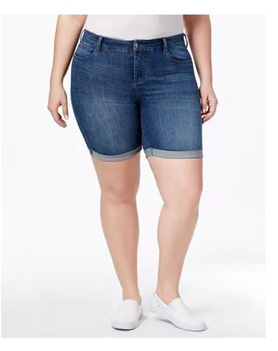 Celebrity Pink Plus Size Denim Shorts 14