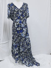 INC. Blue Floral Dress Size 16-New