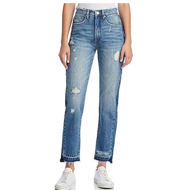 Blank NYC Whisker Wash Straight Jeans-28