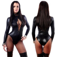 Sexy Exotic Leather Bodysuit*