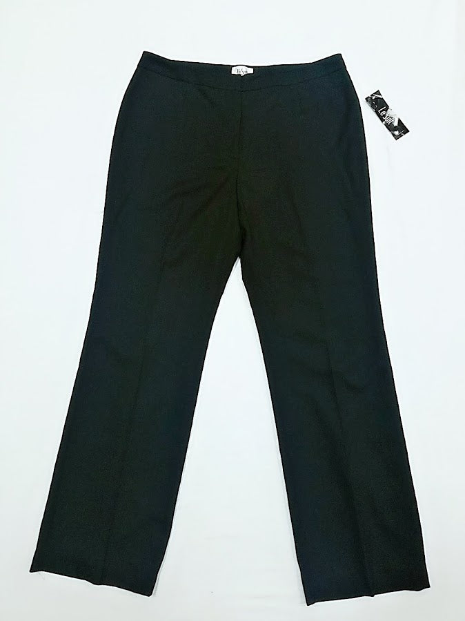 Le Suit black Dress Pants SZ 14