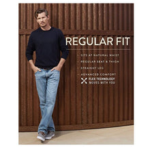 Wrangler Men's Advanced Comfort Regular Fit Jeans 40x32