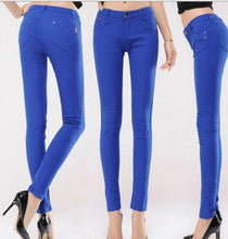 High Waist Skinny Pencil Pants*