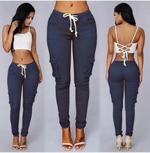 Elastic Sexy High Waist Pencil Jeans*