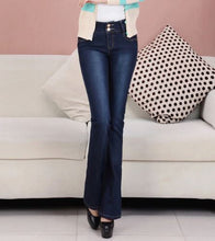 Woman's Bell Bottom Fashion Jeans*