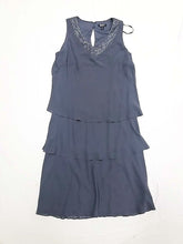 SLNY Blue/Grey Flow Dress- 12