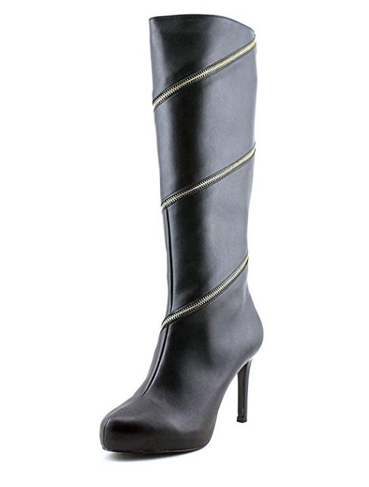 Thalia Sodi Valdiva Women US 6.5 Black Knee High Boot