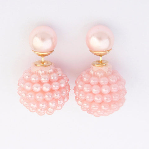 Free Colored Pearl Earrings