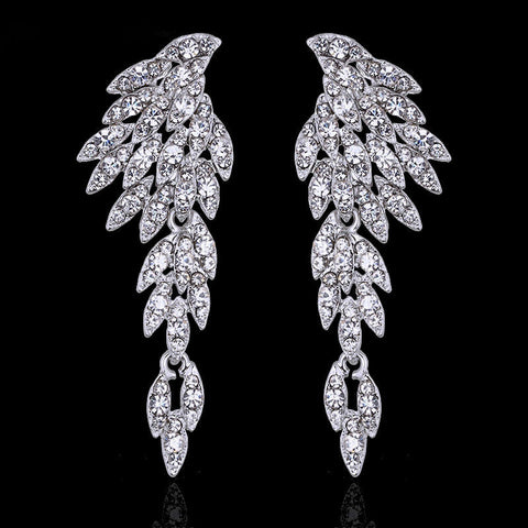 "FREE Angel Wings Earrings ""ANGEL""in Silver Gold Black Multicolored or Rose gold"