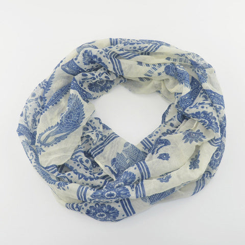 "FREE Colored Round Ring Scarf ""HAPPY"" in 11 designs!!"