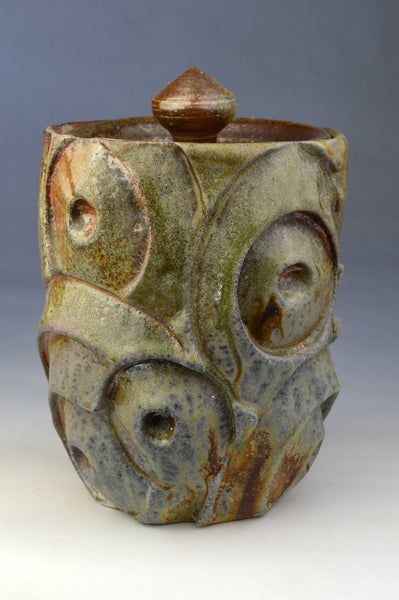 Carved container