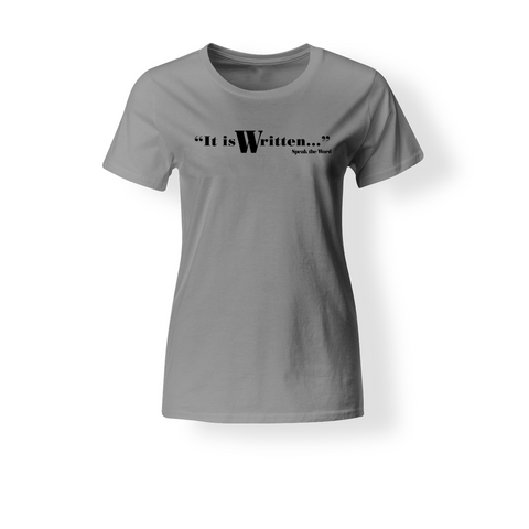 It is Written... Women's Cotton Jersey T-Shirt
