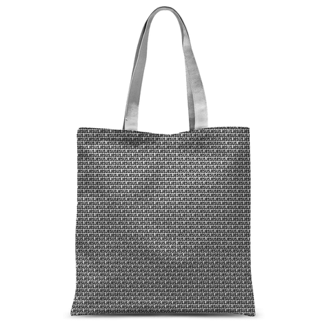 It's All About Jesus: Christian Tote Bag