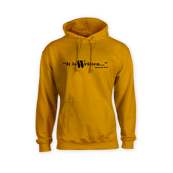 It is Written... Kangaroo Pouch Hoodie