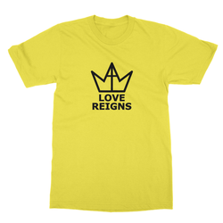 Love Reigns: Unisex Cotton Jersey T-Shirt