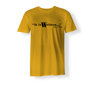 It is Written... Men's Cotton Jersey T-Shirt